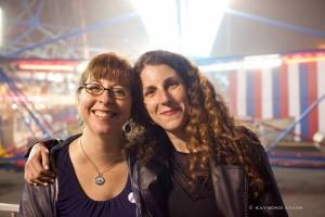 Susan and Amanda
